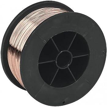 2 3 Mig Wire Spool Reel 0.8mm 0.7kg Welding Gas Copper Coated Mild Steel 7301