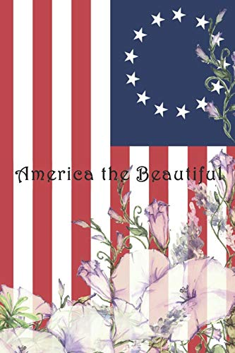America the Beautiful: College ruled, lined paper Valley Forge Music