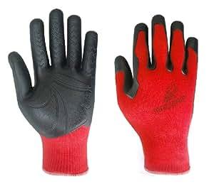 """MadGrip """"Pro Palm Formula 100"""" 700902 Arbeitshandschuhe in bester Markenqualität. Rot. Gr. S-M."""