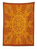 ABAKUHAUS Indische Wandteppich Muster vielseitige Kulturelle Kunst Symetrie Spirituelle Abbildung Digitaldruckaus Weiche