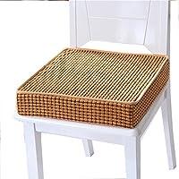 Preisvergleich für JianMeiHome Kissen Stuhlkissen Sitzkissen Tatami Mat Haushalt Schwamm Kissen Tatami Kissen Rutschfest Sitzkissen braun (Size : 45 * 45 * 8cm)