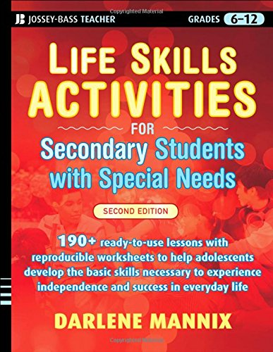 Pdf Download Life Skills Activities For Secondary Students With
