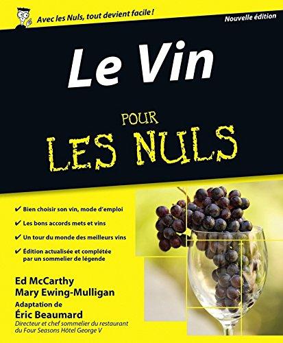 Le Vin, 7e édition Pour les Nuls