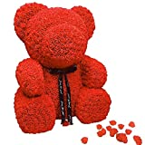 LAIBAERDAN Bambola di Pezza Regalo di San Valentino per Inviare Amante di Ragazze A Proporre Eterna Vita Bambola Rosa 20-40-60Cm, 40Cm