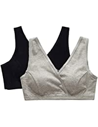 ZUMIY Nursing Bra, Women's Maternity Bra Breastfeeding Sleep Top