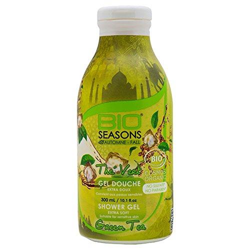 BIO SEASONS Gel Douche Thé Vert 300 ml