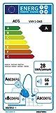 aeg-ultraone-vx9-1-oeko-staubsauger-mit-beutel-eek-a-850-watt-nur-66dba-inkl-hartbodenduese-12-m-aktionsradius-5-liter-staubbeutelvolumen-waschbarer-allergy-plus-filter-schwarzgruen-2