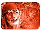 Rukmini Printed Sai Baba Rubber Base Mou...