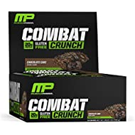 Muscle Pharm Combat Crunch Bars, Chocolate Cake, 1Count