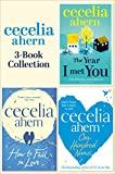 Cecelia Ahern 3-Book Collection: One Hundred Names, How to Fall in Love, The Year I Met You (English Edition)