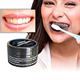 12shage Zähne Whitening Powder Natürliche Organische Aktivierte Holzkohle Bambus Zahnpasta (30g)