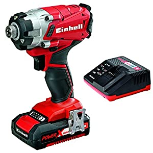 Einhell Expert TE-TK 18 Li Drill & Driver Kit- Atornillador con batería, (Power-X-Change, 18 Li, 140 Nm, 3 LED de potencia, 27 W, 18 V)
