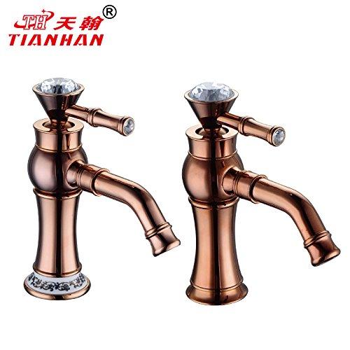 qwer-or-rose-basin-porcelaine-continental-retro-douche-chaudes-et-froides-un-trou-mitigeur-de-lavabo