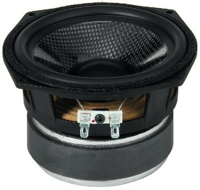 Number One Hi-Fi Bass Midrange Speaker with Carbon Fibre Cone (80 WMAX, 50 WRMS, 8 Ohm)