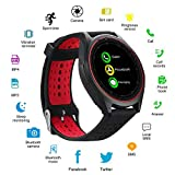 AVIKA Bluetooth Smart Watch Compatible with All 3G, 4G Phone with Camera
