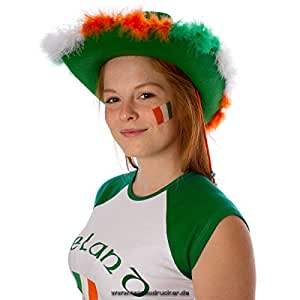10 x Irland Tattoo Fahne Fan Set – EM Fanartikel 2016 – Ireland Flag (10)