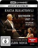 Locandina Khatia Buniatishvili & Zubin Mehta: Liszt & Beethoven (4K UHD) (Blu-ray) [Edizione: Germania]