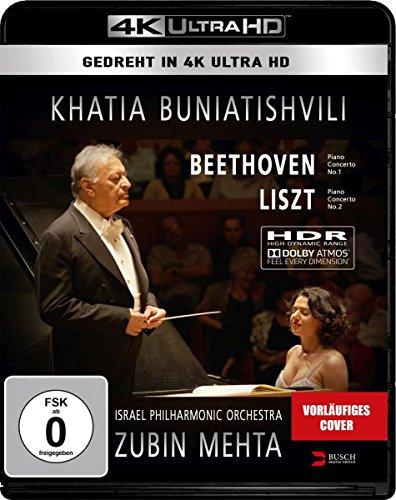 Khatia Buniatishvili & Zubin Mehta: Liszt & Beethooven