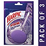 #5: Harpic Hygienic Toilet Rim Block, Lavender, 26 g (Pack of 3)