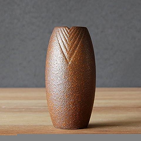 Vaso Decorativo Regali artigianato moderno ceramica casa decorazioni 6.0* 11.0cm, pietra