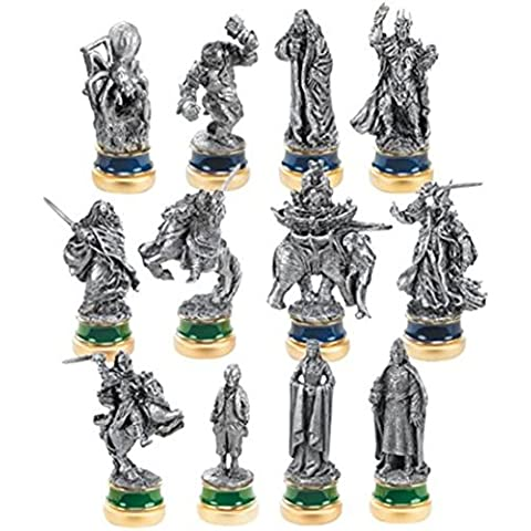 El Señor de los Anillos - El retorno del Rey - Juego de figuras intercambiables para ajedrez