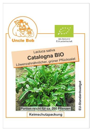 Bobby-Seeds BIO-Salatsamen Catalogna Pflücksalat Portion
