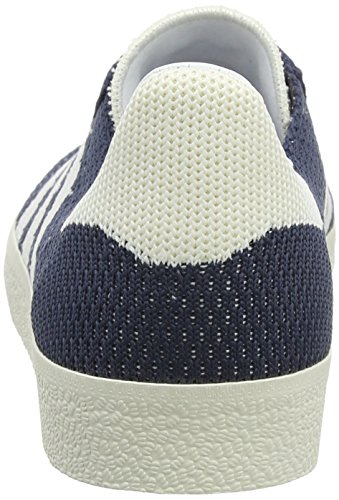 adidas Gazelle Primeknit, Baskets Basses Homme Bleu (Nemesis/off White/chalk White)