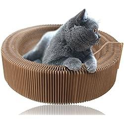 Rascador de Gato para Sofá Plegable Cato con Rascador Gatos Juguete