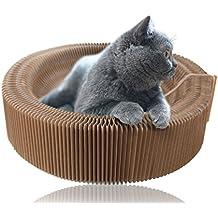 Splink raschietto di gatto per divano pieghevole Cato con raschietto Gatti giocattolo e Catnip di alta densità Carton riciclata cuscinetti ceramica