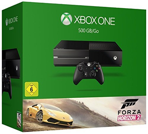 Xbox One 500GB Konsole - Bundle inkl. Forza Horizon 2 (3 360 Xbox Uncharted)