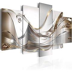 Idea Regalo - B&D XXL murando - Moderno Quadro su Acrilico Vetro 200x100 cm - 5 Parti - Quadro - Stampa in qualita Fotografica a-A-0004-k-o
