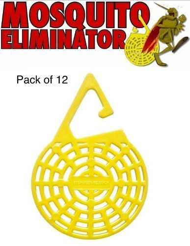 Insect Repelling Hanging Mosquito Eliminator- 12 Pack by Evergreen Research