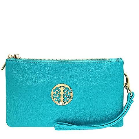 Fashion Choice , Sacs bandoulière Fille femme - - Vert/bleu,