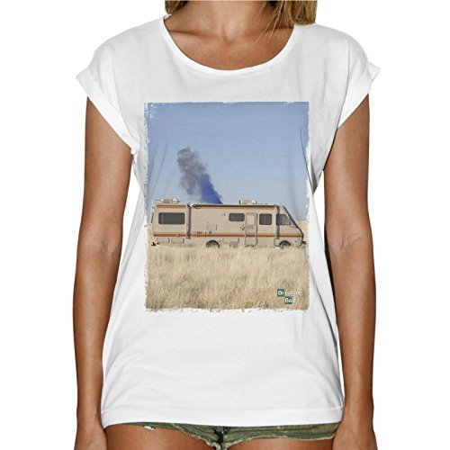 t-shirt-donna-fashion-camper-breaking-bad-serie-tv-heisenberg-bianco