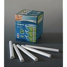 SOLGENIC.EU - Delineador de cassete de cesto de pañales compatible con Tommee Tippee. Ahora equivalente a aproximadamente 10 cassetes 'fit all tubs'. Por favor lea la descripción.