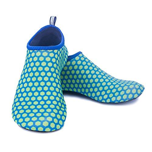 Wasser Schuhe Scuba Quick Dry Socke Tauchen Barefoot Haut Schuhe Beach Surfen Yoga Schuhe für Männer Frauen Comb Blue
