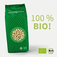 Mundo Feliz - Anacardos ecológicos enteros, 2 bolsas de 500g
