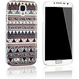 tinxi® Indian ABS-Kunststoff harte Schutzhülle für Samsung Galaxy S4 i9500 Hülle Schutz Rückschale Schutzschale hardcase Etui Skin Cover