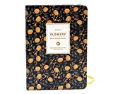 Daily Planner Calendar Schedule Organizer and Journal Notebook,Non Dated Day, (Black Adonis)