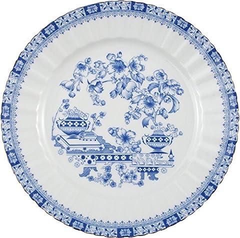 Seltmann Weiden 6-pk dinner plates porcelain blue size 24 Ø