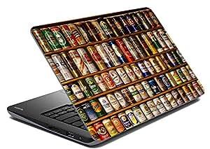 meSleep Beers Laptop Skin