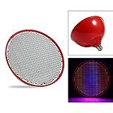 LED-Anlage Lampe Wasser Anbau Sämling Lampe Topfpflanze Lampe E27 80W 85-265V 800led(Rot)