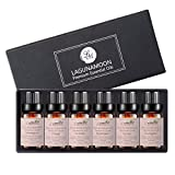 Aromatherapy Essential Oils Gift Set - 100% Pure Premium Therapeutic Grade Oils kit -Lavender, Tea Tree, Eucalyptus, Lemongrass, Orange, Peppermint