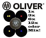 Oliver Squashball doppelgelb 1er