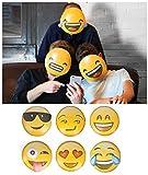 Fantastique 6x masques adultes enfants Smiley emoji Icon Masque visage fête Jeu Fun Photo Shoot Royaume-Uni par Lizzy®
