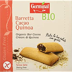 Germinal Bio Barretta Cacao Quinoa - 1800 gr, Senza glutine 9 spesavip