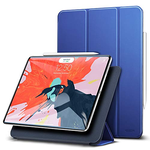 ESR Hülle kompatibel mit iPad Pro 11 Zoll 2018- [Apple Pencil kompatibel] Magnetisches Smart Case - Ultra Dünnes Cover mit Auto Sleep/Wake - Kratzfeste Schutzhülle für iPad Pro 11