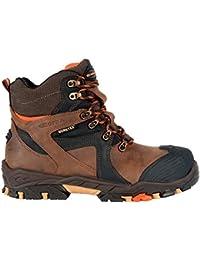 Cofra Ramses S3 WR SRC par de zapatos de seguridad talla 43 MARRÓN
