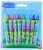Peppa Pig 8pk chunky wax crayons