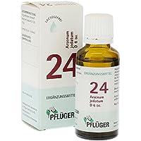 Biochemie Pflüger 24 Arsenum Jodatum D 6 Tropfen, 30 ml preisvergleich bei billige-tabletten.eu